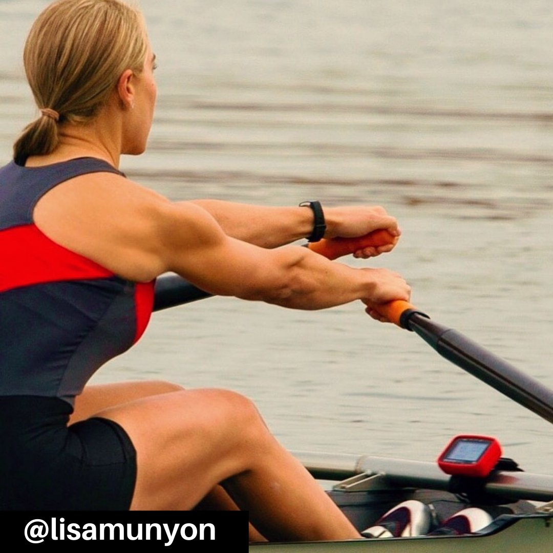 """""""Happy 35th Annual National Girls & Women in Sports Day! Let's not forget that this will be the first Olympics where FISA has allocated an equal number of female & male rowing events. Onward and upward ladies!"""" - @lisamunyon   #nationalgirlsandwomeninsportsday #nksports #nkrowing"""