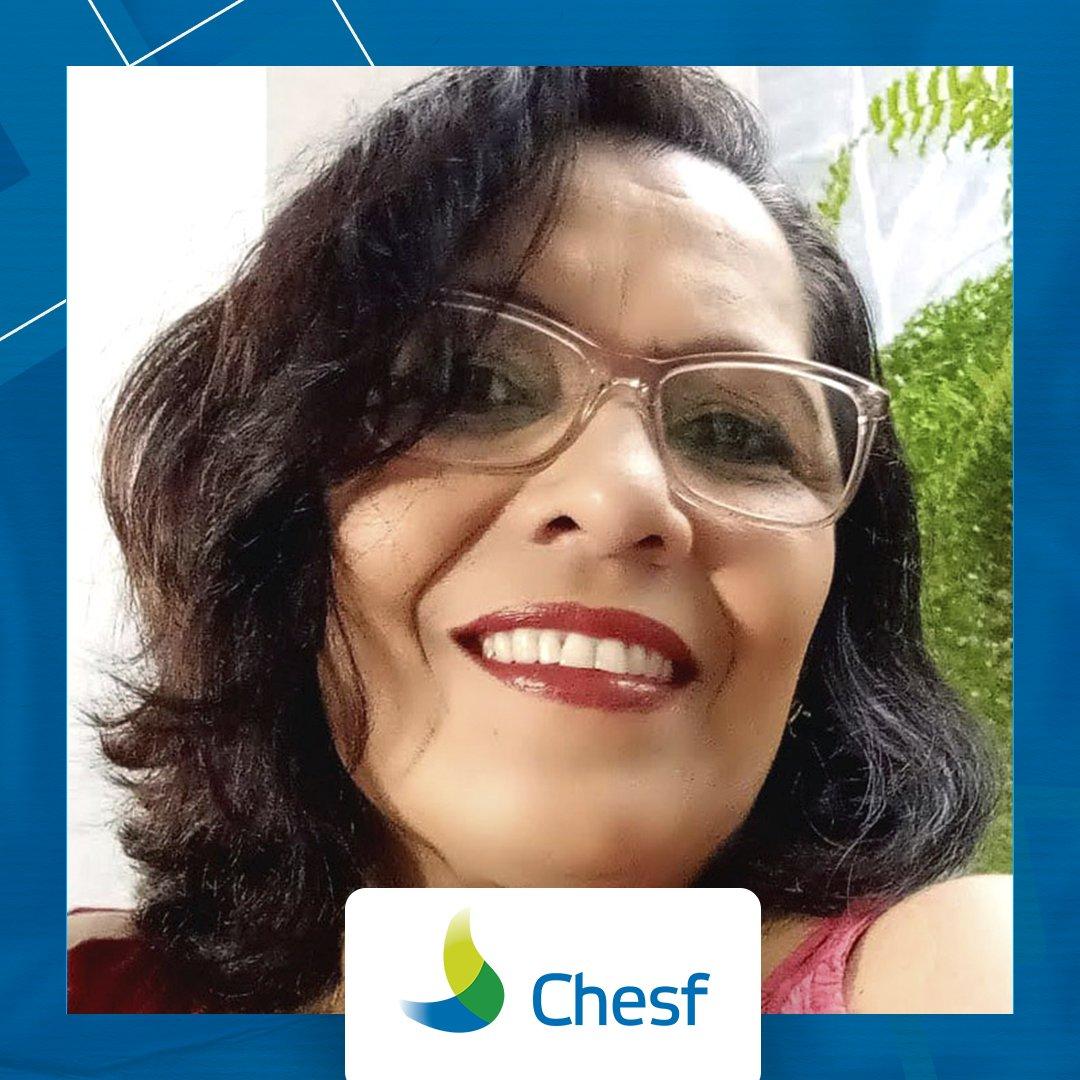 No quadro #GenteNossa, trazemos alguns chesfianos para compartilharem sua experiência na companhia. No post de hoje, trouxemos Rosângela Menezes. Confira mais no nosso perfil do LinkedIn. https://t.co/nS6i49o8iO