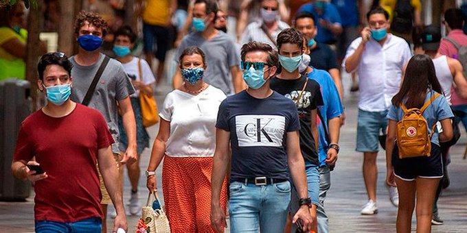 Gobierno de EEUU estudia situaciones sobre el uso de mascarillas en el país