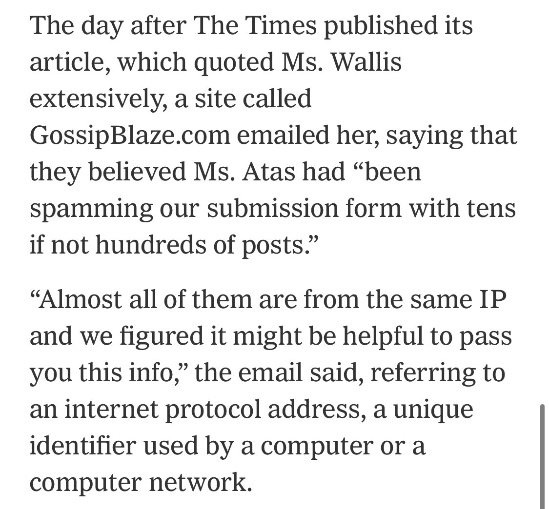 How she was arrested is almost as mind-blowing as the original story nytimes.com/2021/02/10/tec…