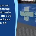 Image for the Tweet beginning: Aprovamos o projeto que prorroga