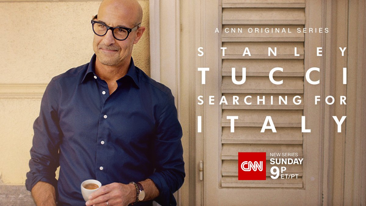 Award-winning actor and best-selling cookbook author Stanley Tucci is coming to CNN, and bringing you along for an unforgettable journey through Italy. Get hungry. Get excited! #SearchingforItaly