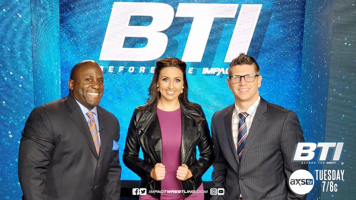 Impact Reveals New Weekly One-Hour TV Show – Before The Impact
