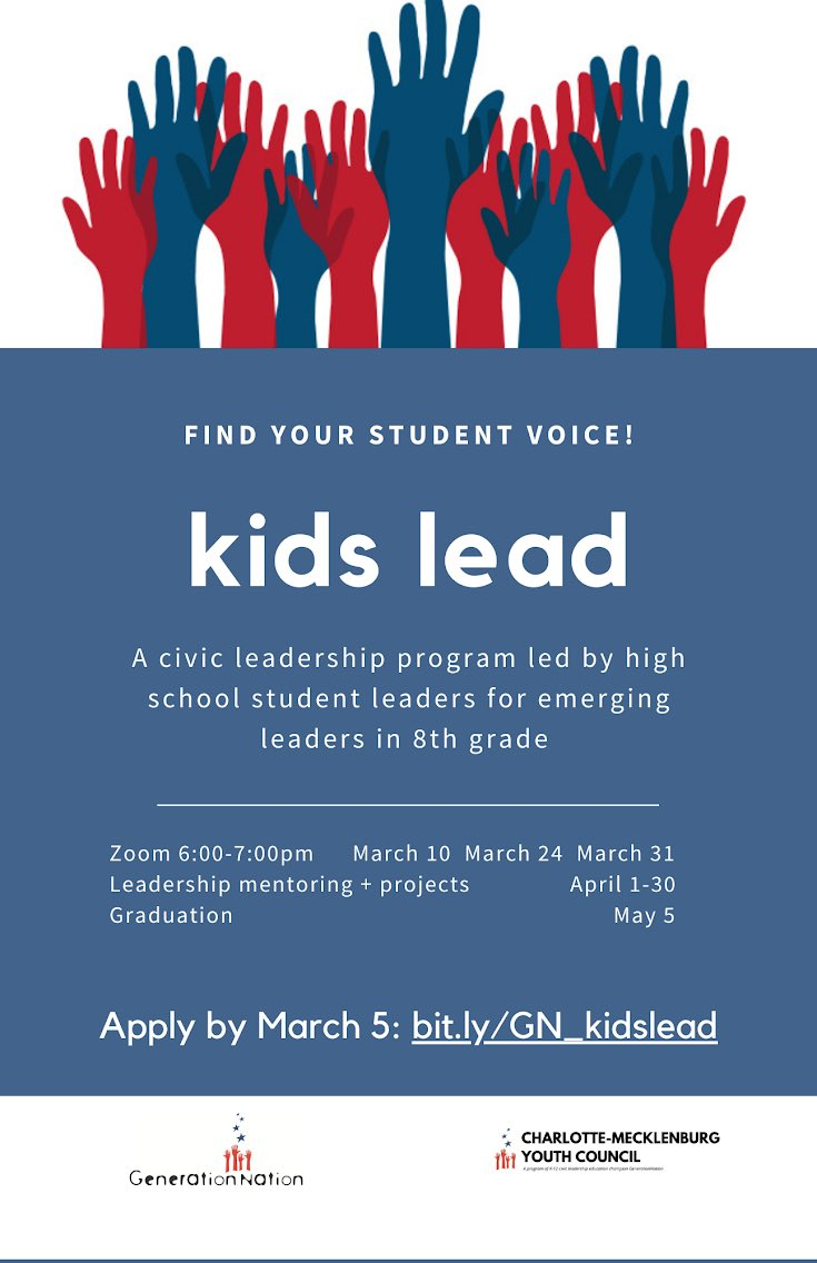 Great opportunity for 8th graders interested in civics. 🇺🇸🇺🇸 https://t.co/lvYINlouD1