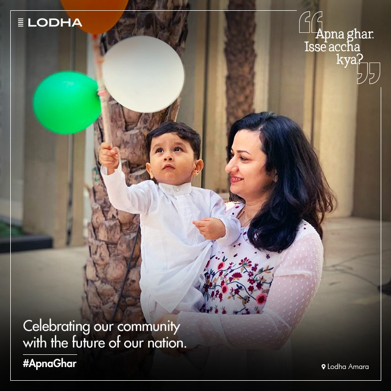 Let's cherish a community that leads to a well-developed future for everyone. 📸:  vishalrane14 on Instagram #BuildingABetterLife #ApnaGhar #LodhaAmara