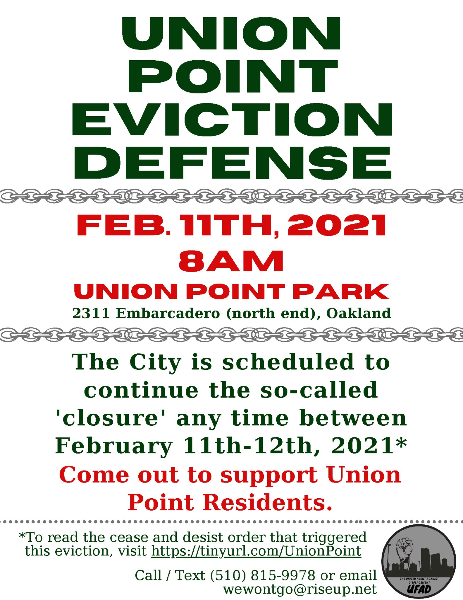 Union Point Eviction Defense