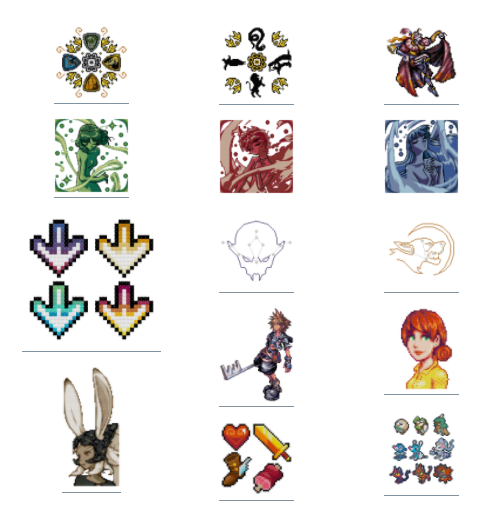Sirithre - Note that the cross stitch pattern spreadsheet includes 40+ FREE patterns that can be downloaded without having to sign up for Patreon!   May as well check it out. ;)