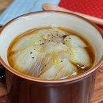 玉ねぎが好きな人は是非!火を使わずに電子レンジで作れちゃう玉ねぎスープ!