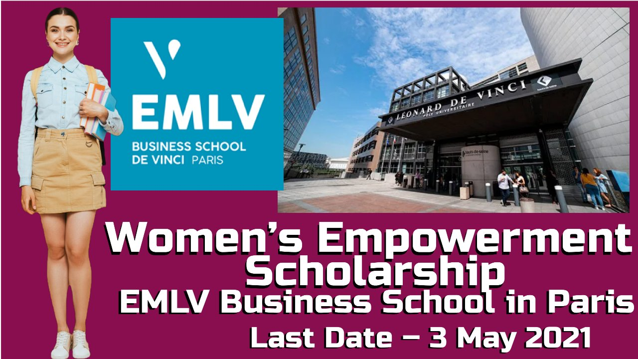 Women's Empowerment Scholarship at EMLV Business School in Paris