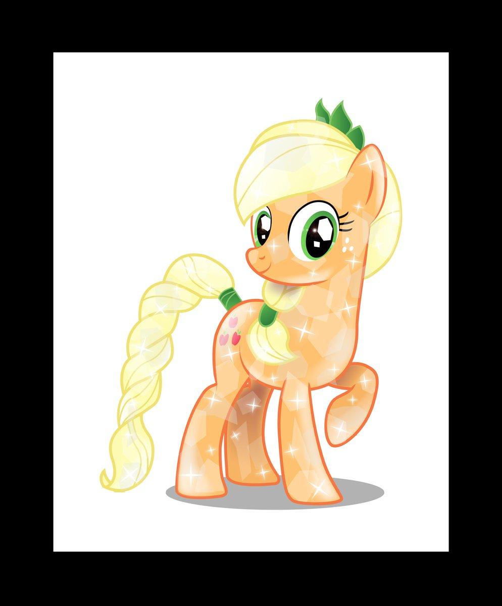 Applejack Fluttershy Twilight sparkle