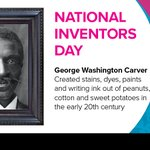 Image for the Tweet beginning: In honor of #NationalInventorsDay, PRINTING
