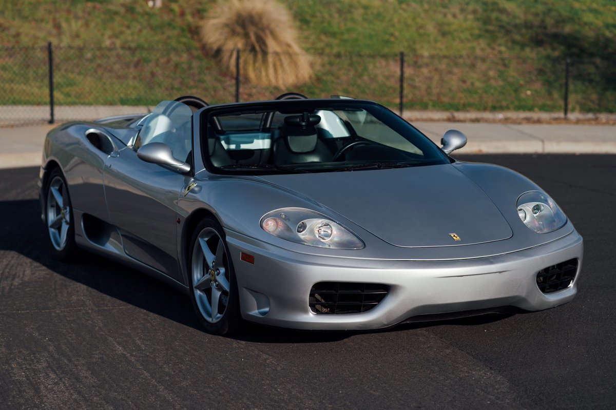 Bring A Trailer Auf Twitter Now Live At Bat Auctions 5k Mile 2000 Ferrari 360 Spider Https T Co Qc1rncztwf