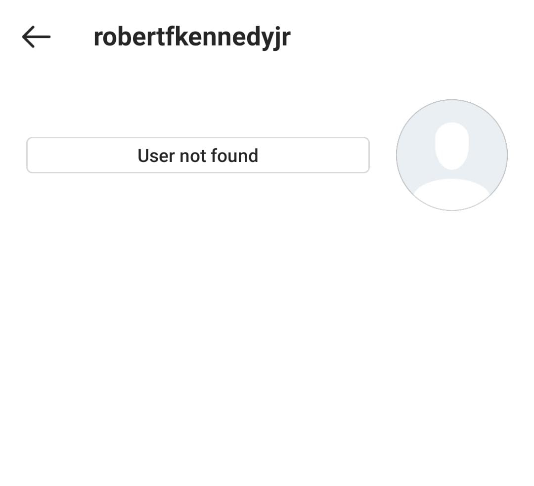 Instagram has banned Robert F. Kennedy Jr. and Del Bigtree for spreading misinformation about Covid and vaccines.  But their organisations - Children's Health Defense and ICAN - are still on there.  This isn't going to work unless @Facebook uproots these networks in full.