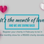 Image for the Tweet beginning: 12 months of giving back