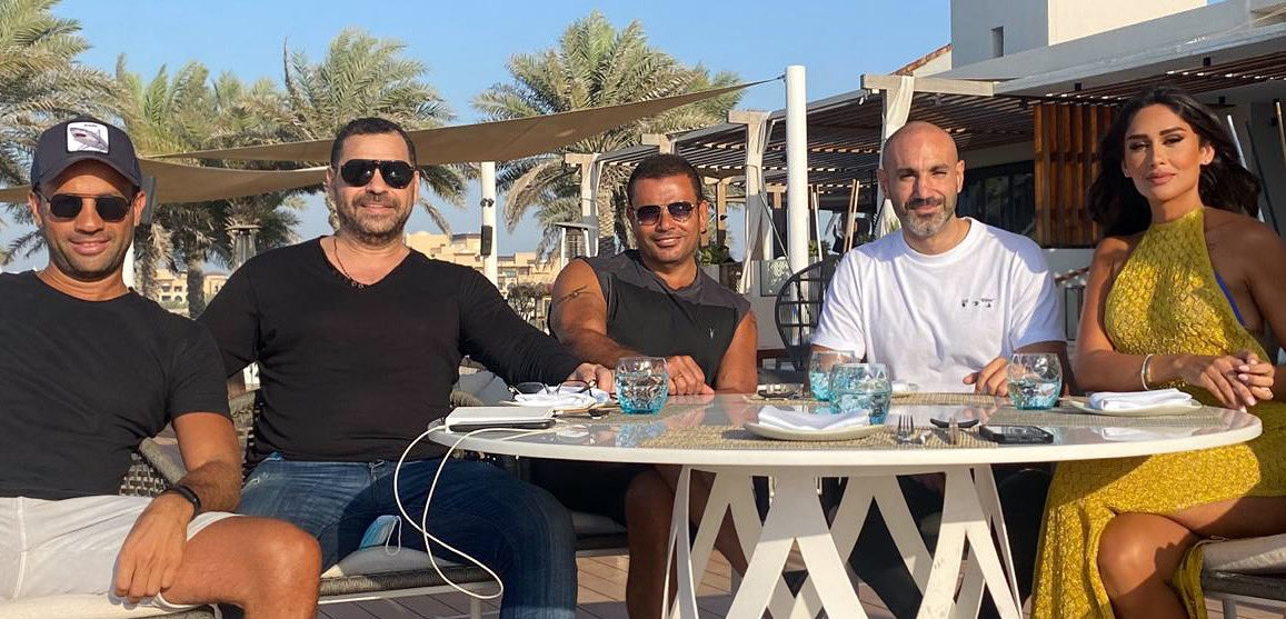 Stay tuned for #AmrDiab's Eau de Parfum commercial with Enjy Kiwan and directed by Tarek El Arian