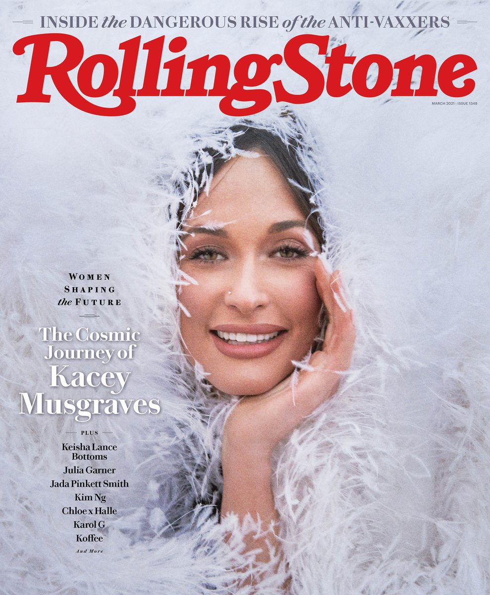 .@KaceyMusgraves appears on the cover of our third-annual Women Shaping the Future issue.  How the queen of 'galactic country' is following up a career-defining album (and a divorce) with a little help from Bach, Greek tragedy, and magic mushrooms.