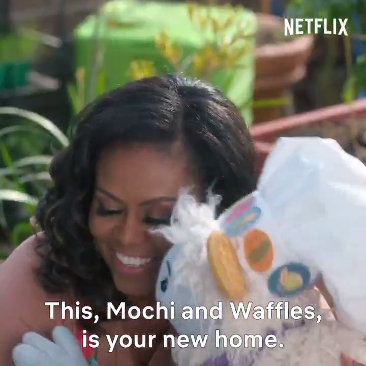 Here's the trailer for #WafflesAndMochi! I hope you'll join us on @Netflix on March 16 to meet all my new friends and get inspired to start your own kitchen adventures with your family.