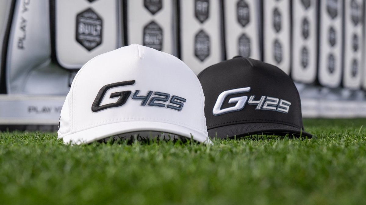 Wear what's in the bag. 💪 Limited-edition #G425 headwear will be worn by #TeamPING this week at the @attproam. Both options are available exclusively here: