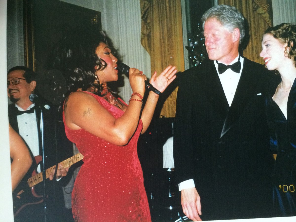 Mary Wilson was truly supreme in her talent, kindness, and grace. Her singing always lifted my spirits, and I will never forget her performance at our Millennium Celebration at the White House on New Year's Eve 1999. She will be missed.