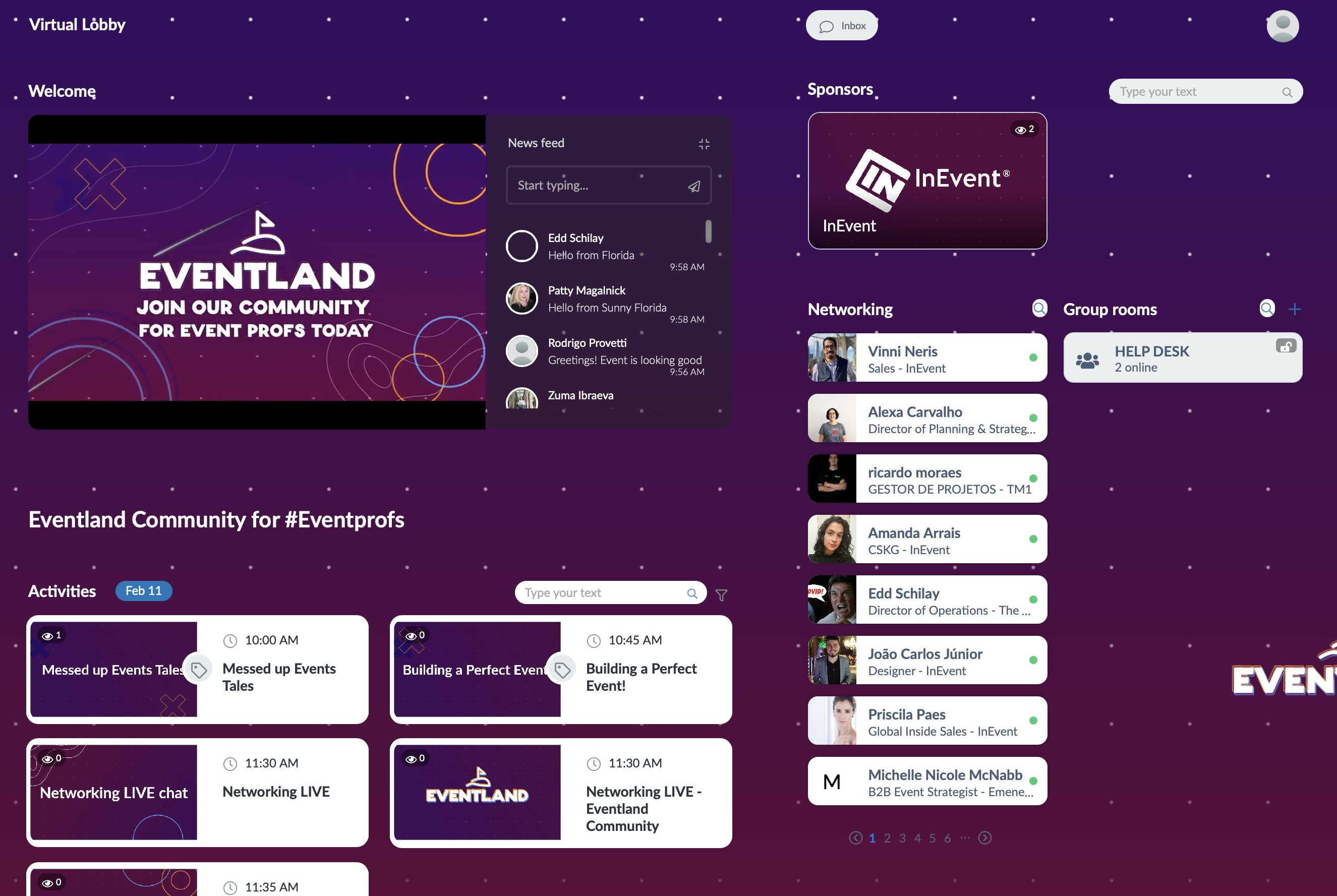 virtuallobbyshowingeventland