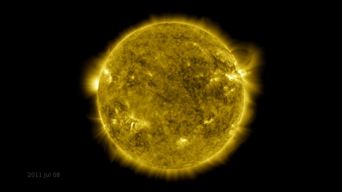 Our Solar Dynamics Observatory satellite launched 11 years ago today! 🥳🚀☀️ SDO's constant view of the Sun helps scientists study our star's activity and ever-changing conditions. nasa.gov/sdo Watch a decade of Sun through SDO's eyes: youtu.be/l3QQQu7QLoM