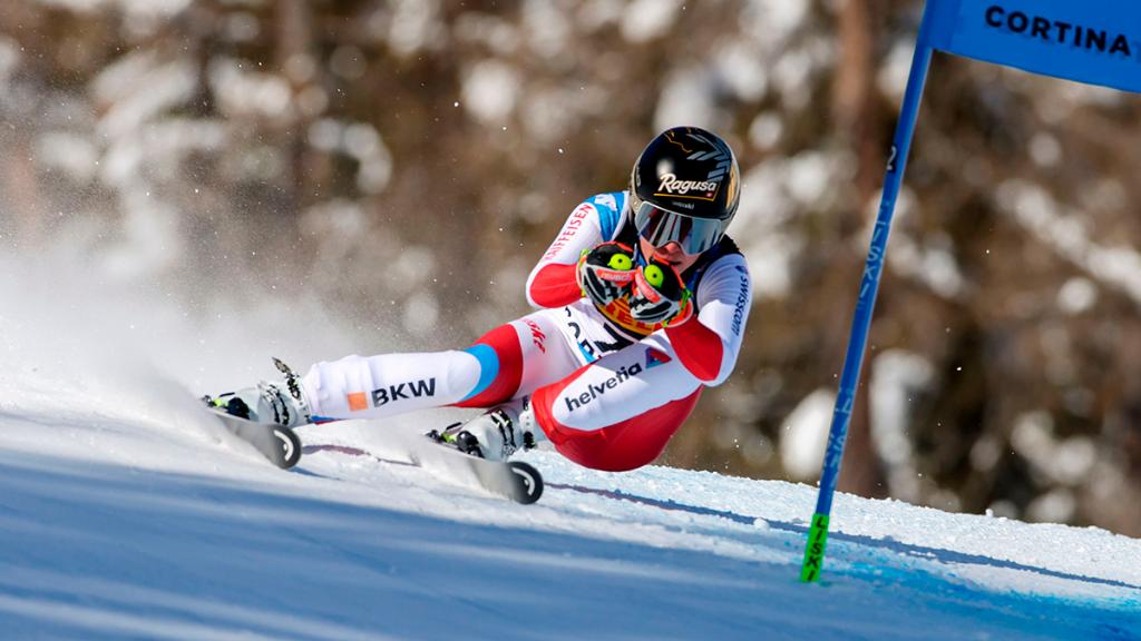Congratulations Lara Gut-Behrami on your victory at the World Ski Championships Super-G in Cortina d'Ampezzo. #RolexFamily #Perpetual
