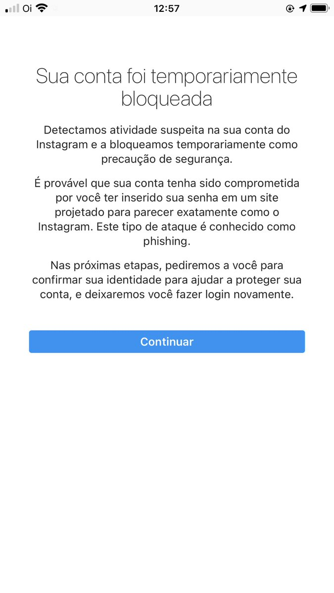 Hello @instagram my account has been temporarily blocked! because I stop following a lot of people in a short time ... It turns out that to recover she asks to send a code to an email that I DO NOT have more access and an old number of mine!