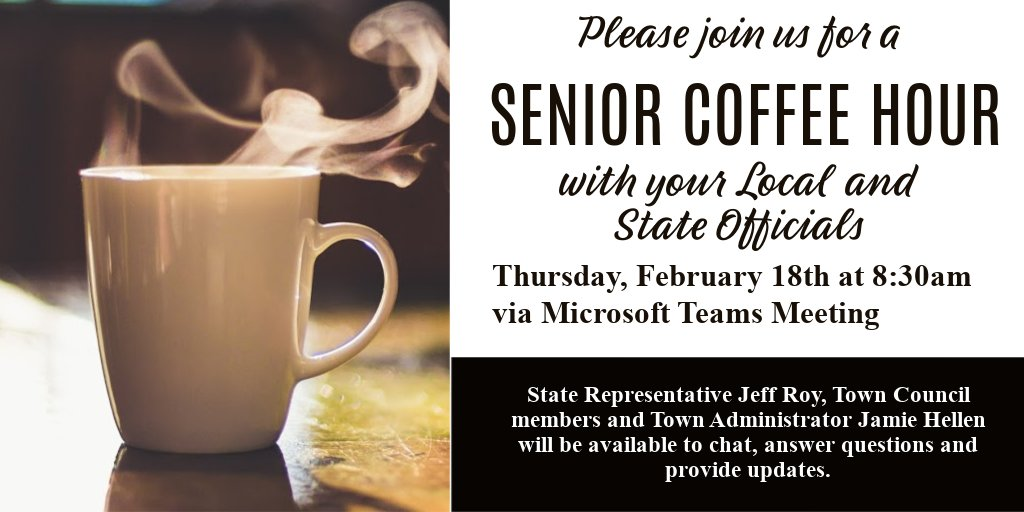 Senior Center Coffee Hour - Thu, Feb 18