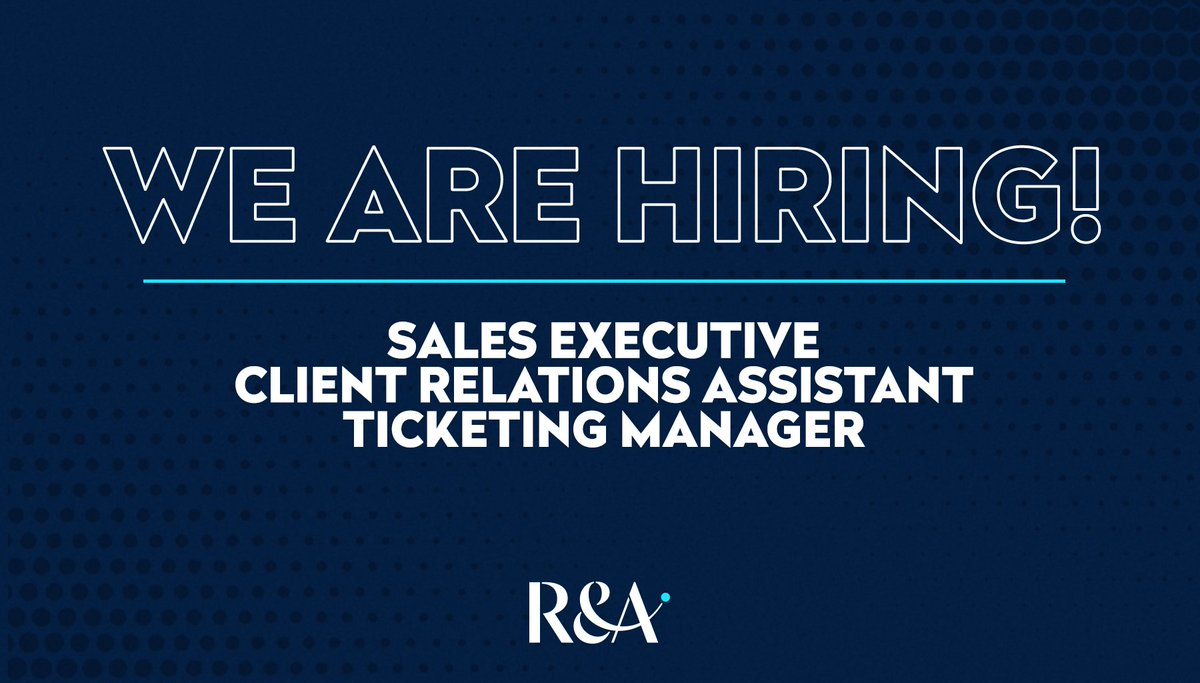We currently have three vacancies at The R&A ⛳️  For more details and to apply, follow the link 👉