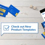 Image for the Tweet beginning: We created ready-to-use product templates!