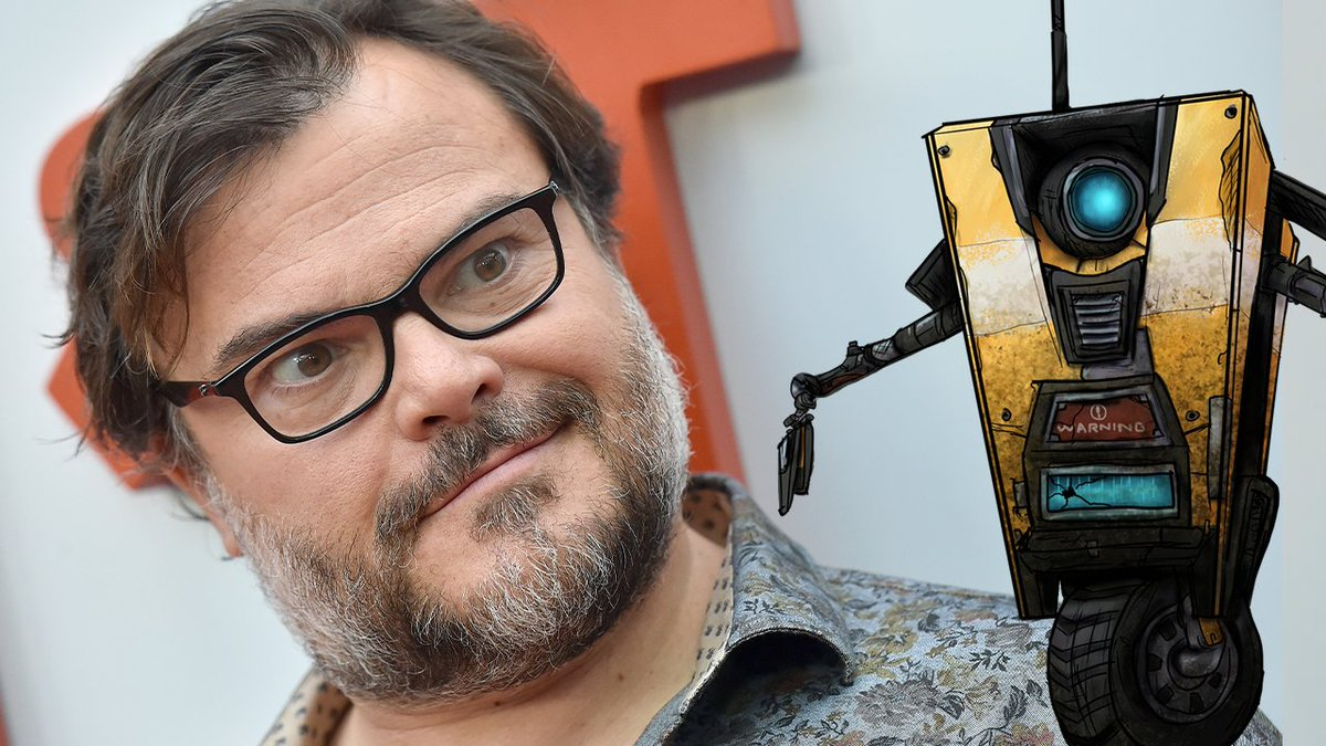"""PROTECT ME, MINION!""  Jack Black has officially been cast as the voice of Claptrap in the upcoming Borderlands movie."
