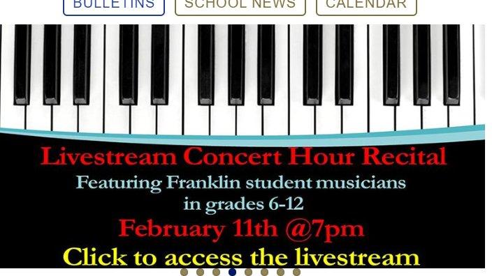 FHS Musicians: Livestream Concert - February 11