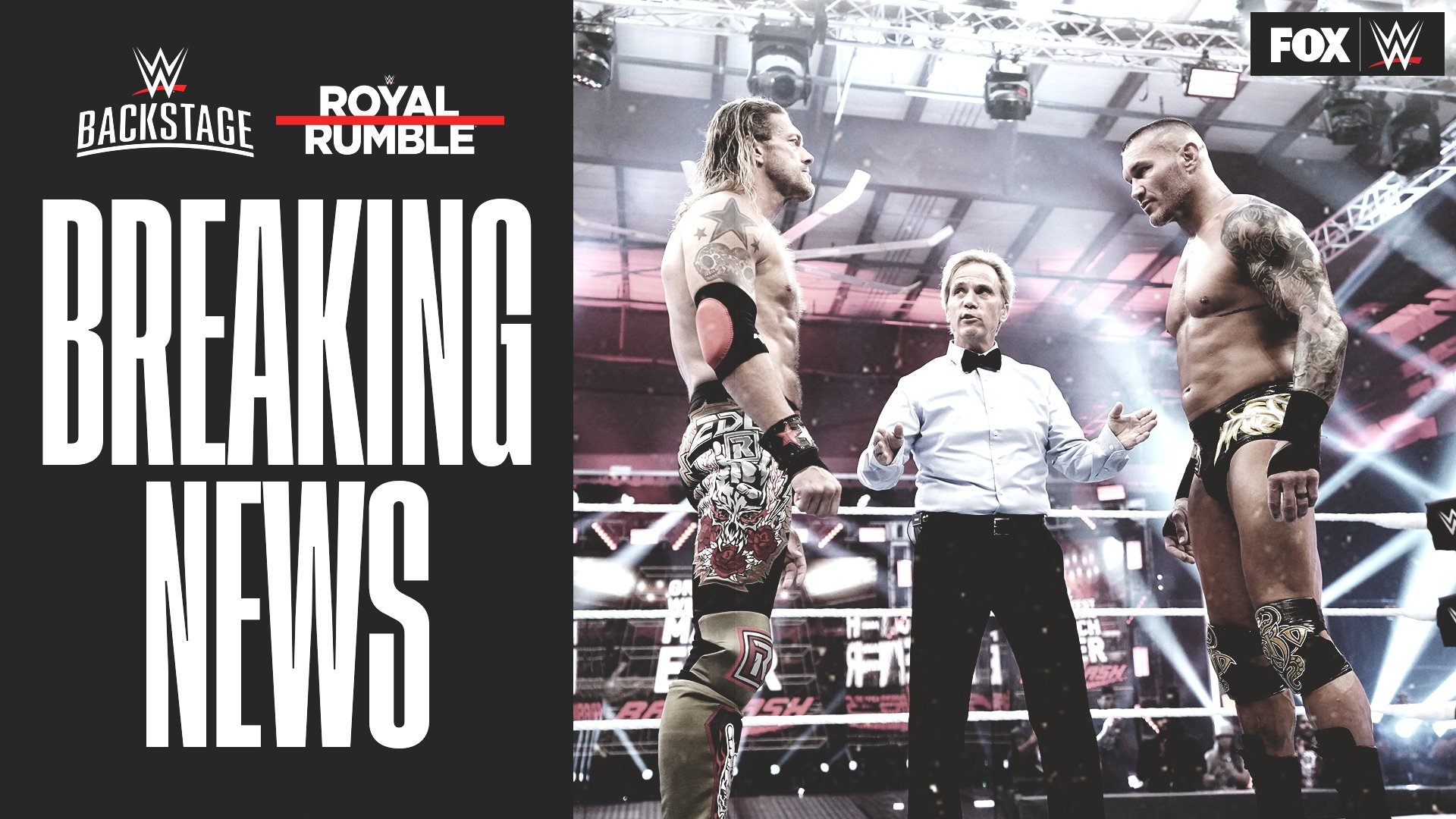 Both Edge and Randy Orton will be starting off the Royal Rumble match.