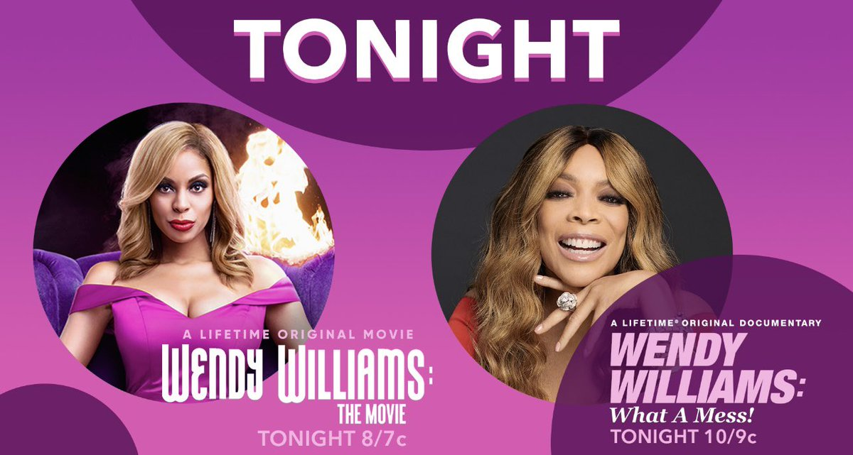 It's time. #WendyWilliamsWatchParty #WendyWilliamsMovie #WendyWilliamsEvent 💜💜💜💜