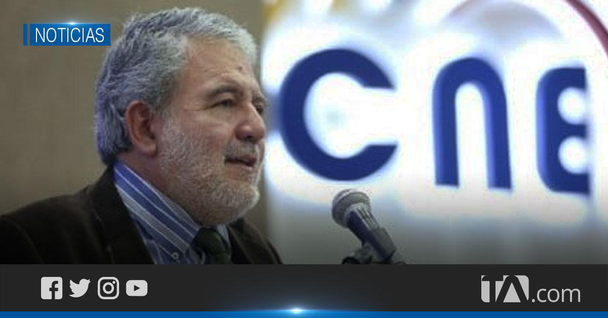 Consejero Verdesoto presentó una denuncia contra el binomio Arauz-Rabascall
