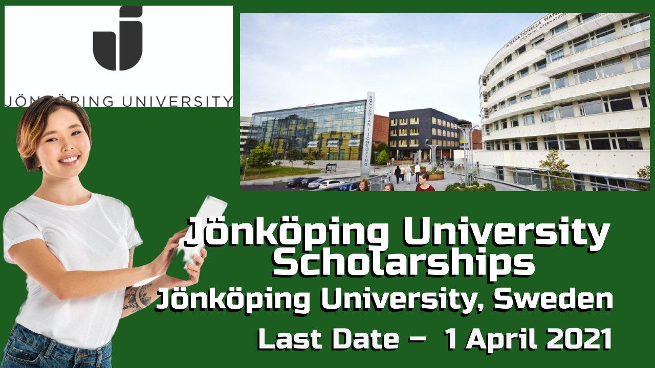 Jönköping University Scholarships at Jönköping University, Sweden