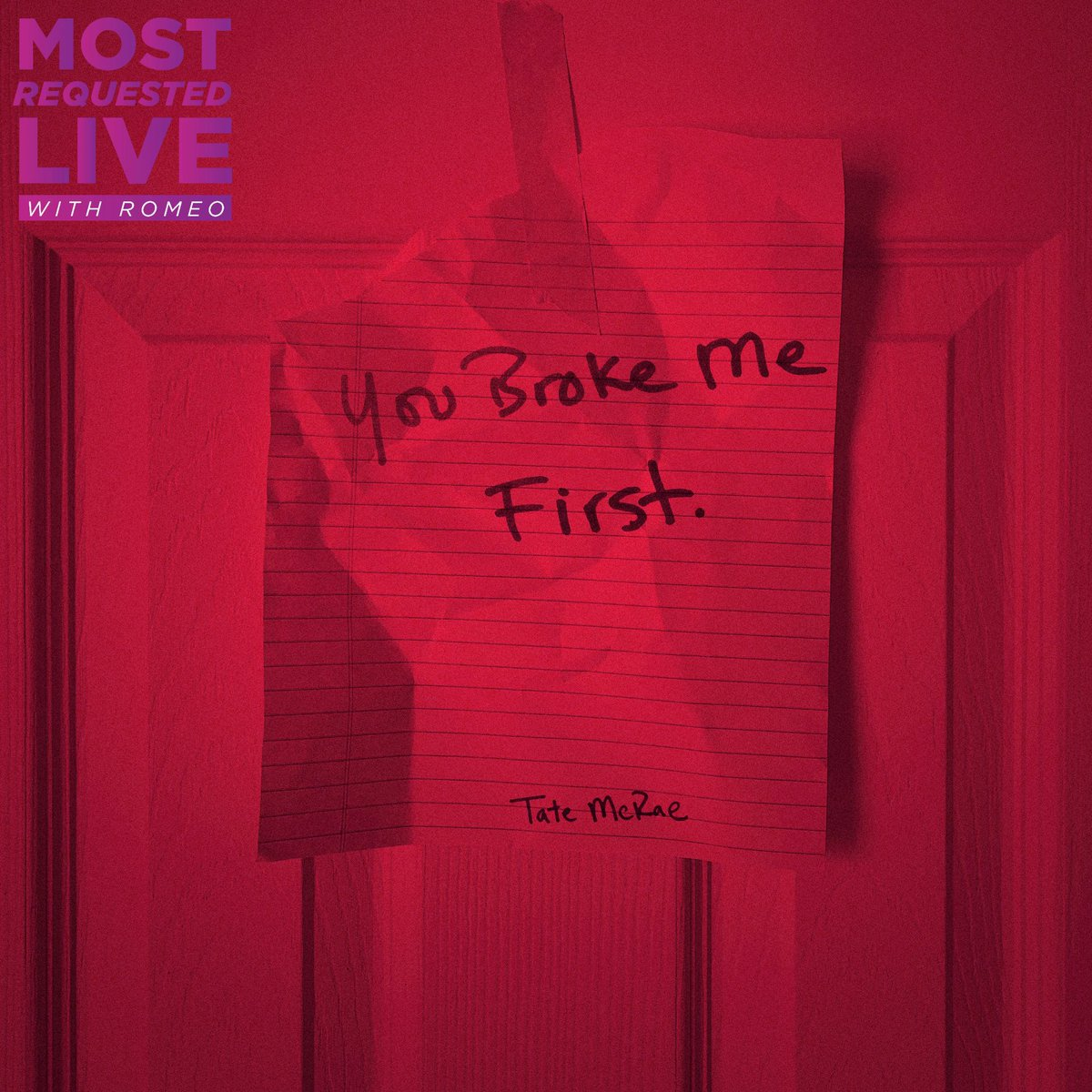 I Request #YouBrokeMeFirst @tatemcrae On The #TWITTAMIX With @OnAirRomeo And @JayMacRadio On #MostRequestedLive! @MostRequestLive @t_brat