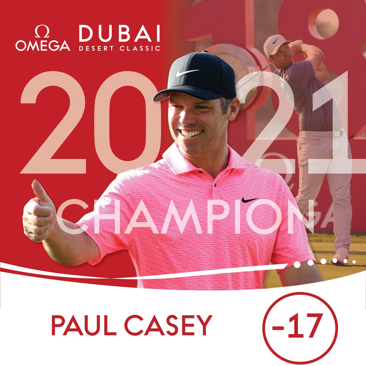 Paul Casey wins the 2021 #ODDC 🏆  #MadeForGreatness #TimeToMakeHistory