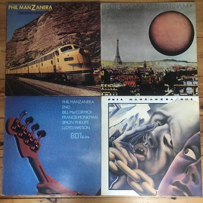 Happy 70th Birthday Phil Manzanera. A Seventies Selection!