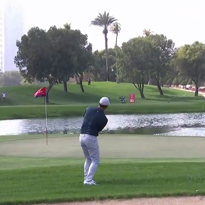 😐 Thick rough 😐 Green running away from you 😐 Water looming behind  Incredible shot from @Paul_Casey!  #ODDC