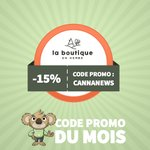 Image for the Tweet beginning: [Code Promo du mois] Vous