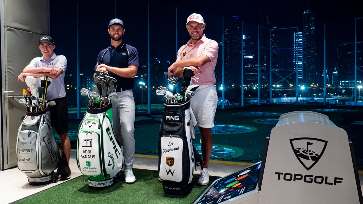 The #ODDC may have finished but we still have more treats in store 🤩  Find out what happened when Lee Westwood, Matt Fitzpatrick and Adri Arnaus visited Topgolf Dubai 🏌️  Watch here:   #MadeForGreatness #TimeToMakeHistory