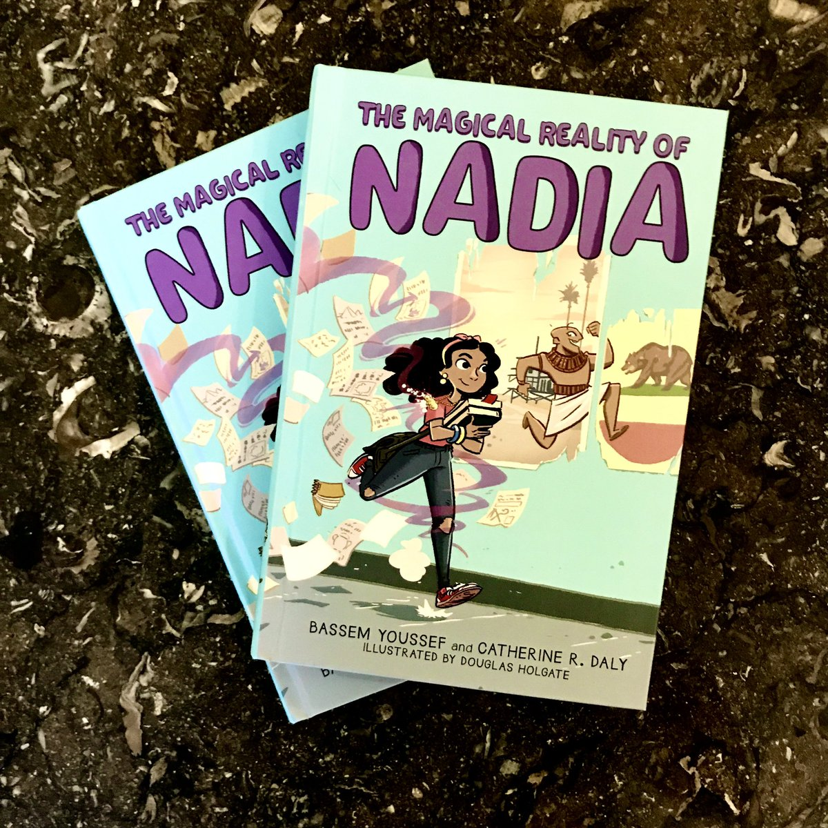 In 2 days you'll be able to meet Nadia, a sixth grade Egyptian immigrant who discovers her hippo amulet is holding a hilarious -- and helpful -- secret! Pre-order your copy of #TheMagicalRealityOfNadia:   link on amazon:  @Scholastic