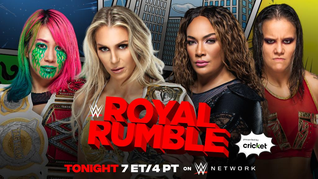 Title Match Reportedly Moved To WWE Royal Rumble Kickoff, Star Announces Entry Into Rumble