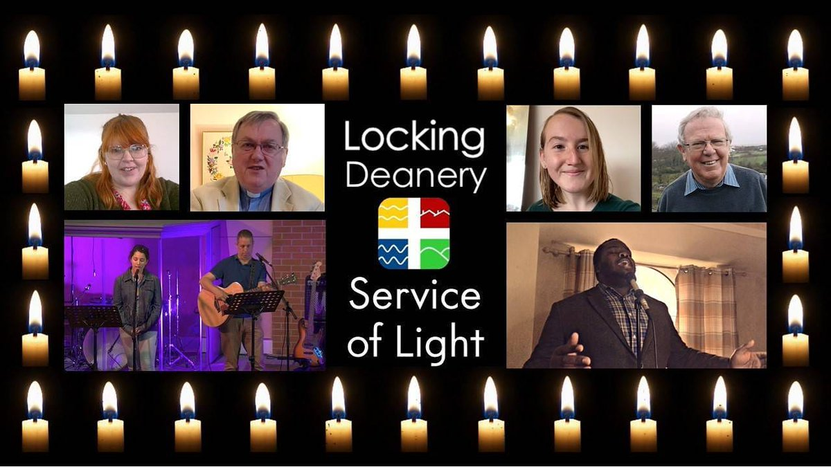 The Locking Deanery Service of Light is live online now https://t.co/GgplLALzXj