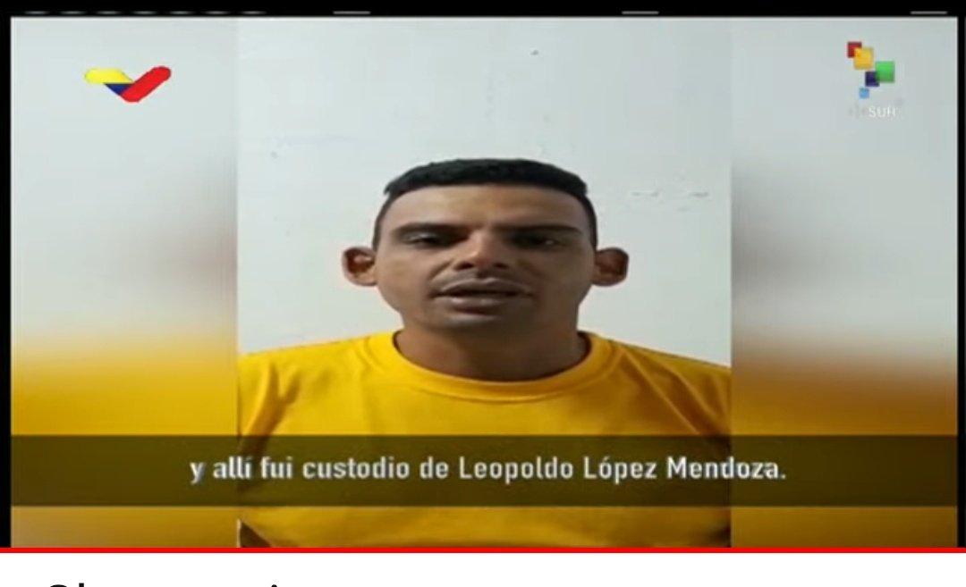 """La Tabla's tweet - """"El capitán Juan Luis Gutiérrez Aranguren fue custodio  de Leopoldo López en la cárcel militar de Ramo Verde y allí estableció una  relación amistosa. El propio López aprobó"""