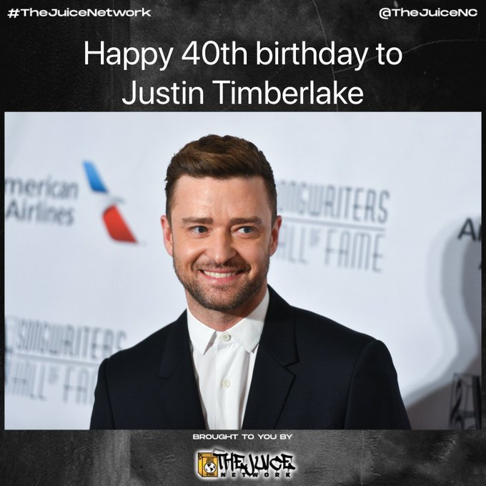 Happy 40th birthday to Justin Timberlake!