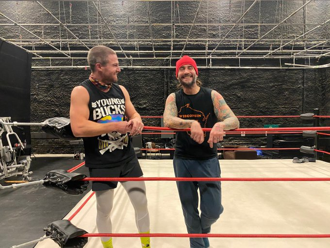 """CM Punk Returning To The Ring On The Starz Series """"Heels"""""""