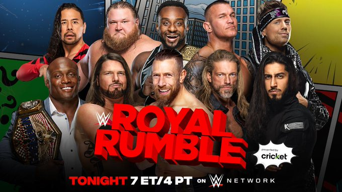 Potential Spoilers: WWE Royal Rumble Betting Odds