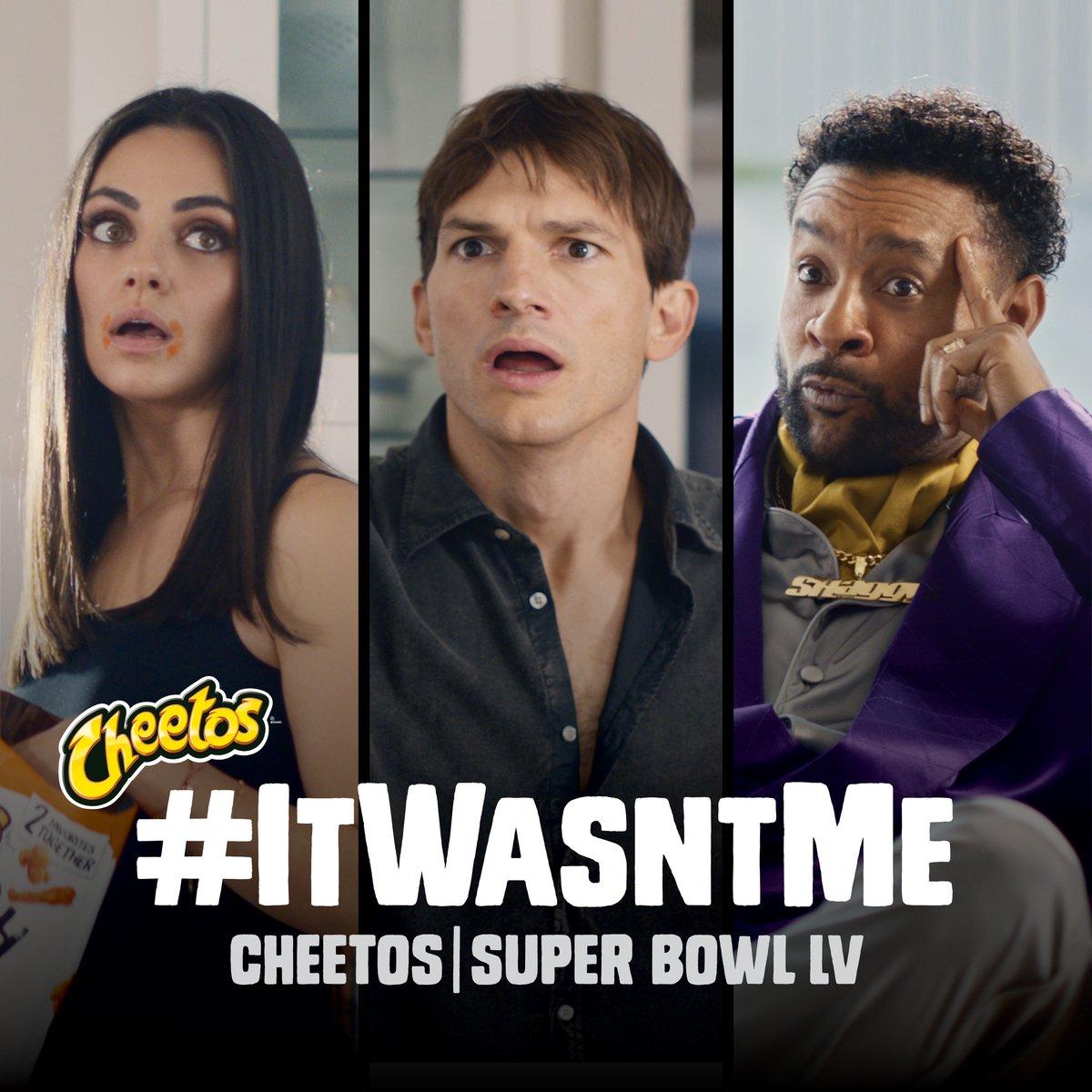Replying to @pehota: Best commercial of the #SuperBowl so far @ChesterCheetah  Also, I love Mila Kunis and Ashton Kutcher.
